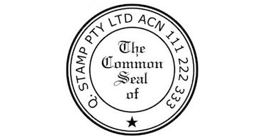 Common seal stamps