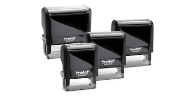 self inking rubber stams